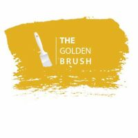 The golden Brush painting and wallpaper