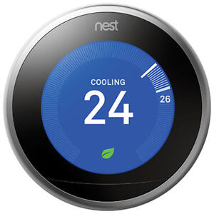 NEST WIFI 3RD GENERATION THERMOSTAT FOR SALE