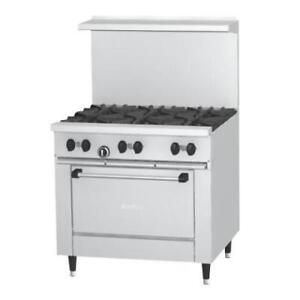 "Garland SunFire Series X36-6R 6 Burner 36"" Gas Range . *RESTAURANT EQUIPMENT PARTS SMALLWARES HOODS AND MORE*"