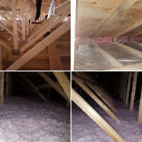 IS YOUR HOME COLD? LET US FIX IT!ATTIC INSULATION CALL NOW