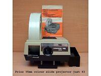 Prinz slide projector £3 Prinz 35mm colour slide projector