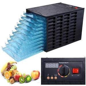 10-Tray AS Commercial Home Food Dehydrator  - FREE SHIPPING