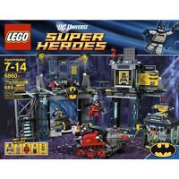 Lego 6860 DC Super Heroes Batman Batcave 6860