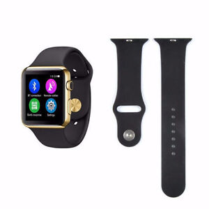 NEW Waterproof Smart Watch Bluetooth Heart Rate Monitor IOS Appl