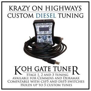 ~KOH Gate Tuner for GM/Chevy and Dodge Diesel Pickups~
