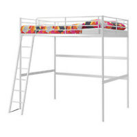 IKEA Full Size Bunk Bed with Sultan Hurva Mattress--Almost New