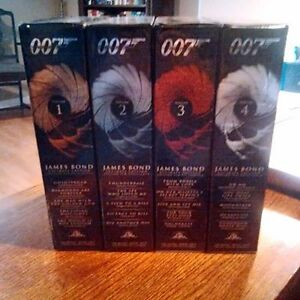 James Bond Ultimate Editions 1-4 DVDs For Sale