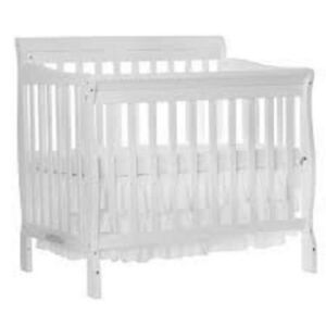 Mini Crib- white / daybed