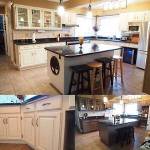 Kitchen Cabinet Spraying and Refinishing Stratford Kitchener Area image 3