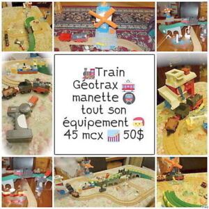 Train Géotrax - Fisher-Price - Complet - Manette - 50$