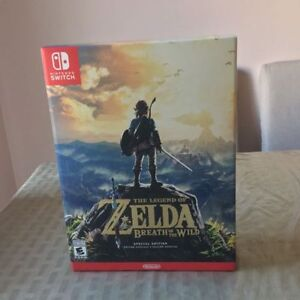The Legend of Zelda Breath of the Wild Special Edition - $160