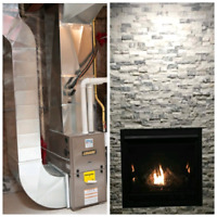 Furnace and fireplace service and installation
