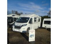 2018 Elddis 4 Berth MOTORHOME HIRE SCOTLAND