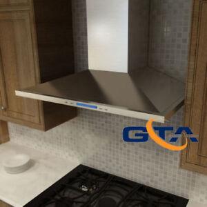 Wall Mount Chimney Range hood Kitchen Exhaust Fan sale $499
