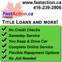 Instant Cash Title Loan – Miss/Brampton - Process Online
