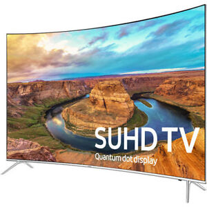 "Samsung 55"" curved SUHDTV"