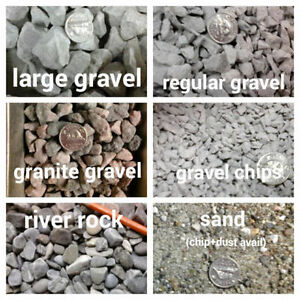 50 bags of gravel ! [We Bag 4 U]