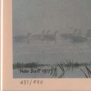 'Out of the Mist' - by Br. Artist, Sir Peter Scott Belleville Belleville Area image 3