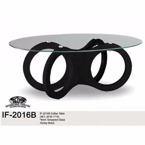 Tempered glass,Glossy coffee table for only $199.99