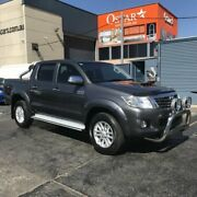 2013 Toyota Hilux KUN26R MY12 SR5 (4x4) Grey 4 Speed Automatic Dual Cab Pick-up Revesby Bankstown Area Preview