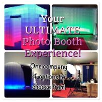 Photo Booths for Weddings & Corporate Parties!