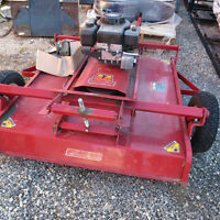 "SWISHER 44"" ROUGH CUT MOWER PULL BEHIND"
