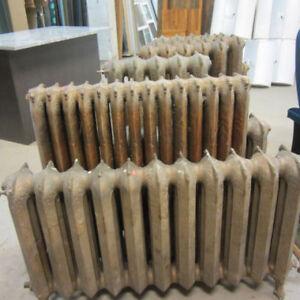 Antique Radiators - Various Sizes & Various Prices