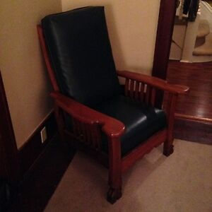 Refinished antique Morris chair