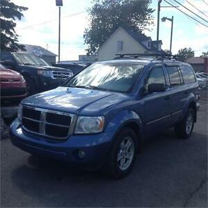 2008 Dodge Durango 7 PASS 82$/Sem FINANCEMENT MAISON DISPONIBLE