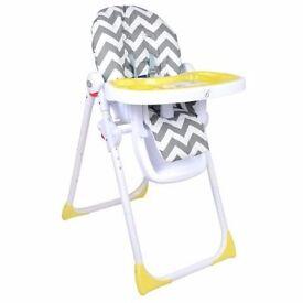 Billie Faiers MBHC8ZZ chevron premium highchair