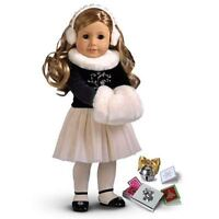 """18""""AG DOLL WOW RETIRED WINTER MAGIC COMPLETE OUTFIT,JINGLE BELL"""