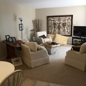 Executive 1 bedroom fully furnished apartment in Old North