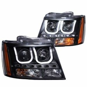 FS: ANZO HEADLAMPS Fits 07-13 Chev Tahoe, Suburban and Avalanche