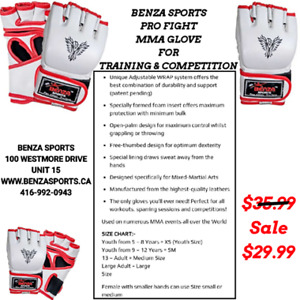 MMA GLOVES ON SALE ONLY @ BENZA SPORTS