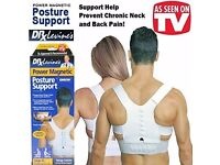 HOMECITYSHOP - POSTURE CORRECTOR FOR HOME AND OFFICE - CAR SEAT CHAIR SUPPORT & MAGNETIC VEST