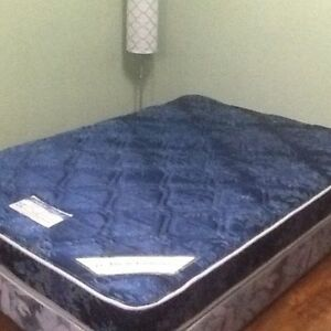 Double matress with box spring
