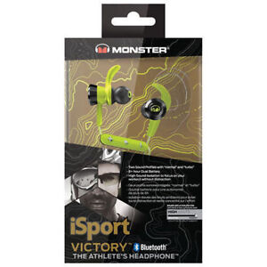 Monster iSport Victory In-Ear Sound Isolating Bluetooth w/MIC NE