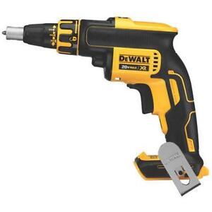 dewalt dcf620b drill a gypse brushless 20 volts max neufff