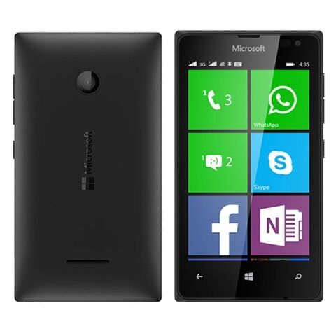 LUMIA 435 MICROSOFT SMARTPHONE BLACK,UNLOCKED TO 02/TESCO AND GIFF GAFF,MINT CONDITIONin Eccles, ManchesterGumtree - HERE I AM SELLING A LUMIA 435 MICROSOFT SMARTPHONE 8GB BLACK, UNLOCKED TO 02/TESCO AND GIFF GAFF, MINT CONDITION, COMES WITH USB AND CHARGER PLUG CASH ON COLLECTION CAN DELIVER FOR FUEL COST