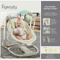 New - ingenuity swing and vibrating seat