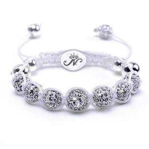 50% OFF All Jewellery - The Kikiballa   Silver WhiteBracelet