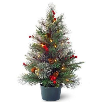 """National Tree Real Feel 24"""" USA SELLER FAST SHIPPING"""