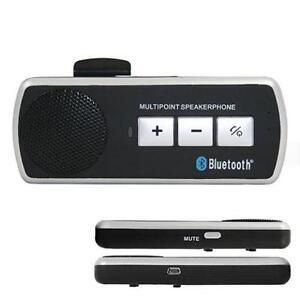 Portable Handsfree Bluetooth Car Kit Speaker Phone