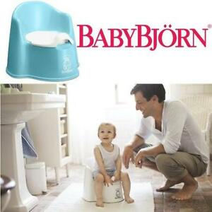 NEW BABYBJORN POTTY CHAIR 215971536 TURQUOISE