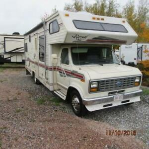 1991 Glendale Royal Classic Motorhome Selling AS IS