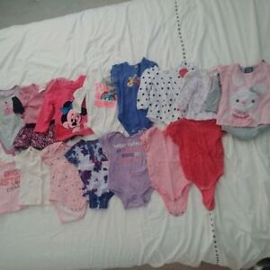 6-12 month Girl's Shirts - $1 each