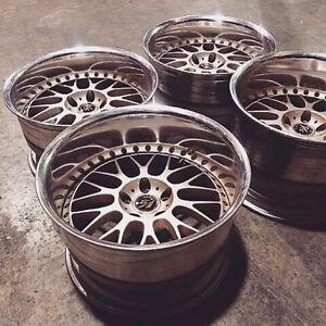 "Lf: 18"" Work wheels 5x114.3"