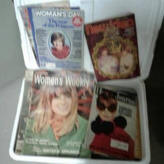 Box of Women's Weekly/New Idea