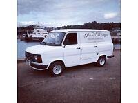 Mk2 Transit Van ( 2.5 Turbo Diesel)