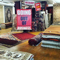 PERSIAN RUG SALE - GOING OUT OF BUSINESS